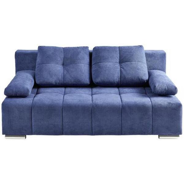 Carryhome Schlafsofa webstoff blau , Irma , Textil ...