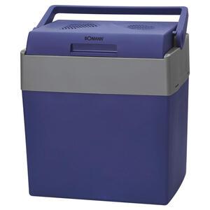 Bomann Kühlbox elekt. 12v/230v blau, grau , KB 6012 Cb , Kunststoff , 30 L , 40x43.5x29.5 cm , ausklappbare Tragegriffe , 006734005401
