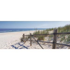XXXLutz Glasbild strand & meer , Gb-Stg1043 , Multicolor , Glas , 50x125x1.40 cm , glänzend , Fotografie, einfache und schnelle Anbringung, glänzend , 0057210504