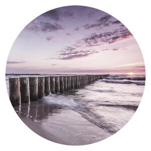 Monee Glasbild landschaft & natur, strand & meer , Gr004 , Multicolor , Glas , transparent , Fotografie , 005090017901