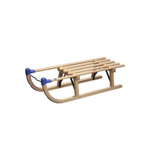 XXXLutz Schlitten , 74-Davos , Naturfarben , Holz, Metall, Kunststoff , Buche , 90 cm , lackiert,Echtholz , 004604024501