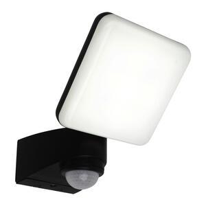 XXXLutz Außenwandleuchte anthrazit , 1079997 LED Jaro , Kunststoff , 14x23x15 cm , Bewegungsmelder, schwenkbar , 001094018102