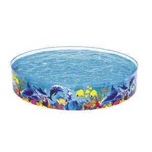 Bestway Kinderschwimmbecken 244/46 cm blau , 55031 Odyssey , Kunststoff , Tier , 46 cm , 006287116001