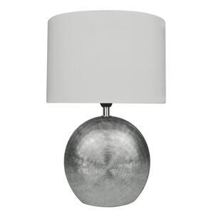 XXXLutz Tischleuchte , 845601706000 Legend , Weiß , Keramik , 24x37x15 cm , mit Schalter , 003131083801