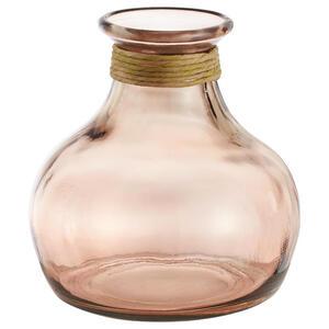 XXXLutz Vase 21 cm , 870112 , Terra cotta , Glas , 19.00x21.00x19.00 cm , farbig , 003754466502