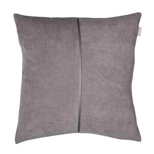 Esprit Kissenhülle grau 45/45 cm , E-Cord , Textil , Uni , 45x45 cm , hochwertige Qualität , 003021092201