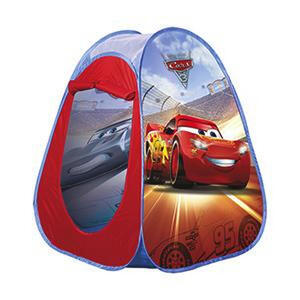 Disney Pop up spielzelt , POP UP Spielzelt Cars, IM Disp , Blau, Rot , Kunststoff, Textil , 75x75x90 cm , 003519000401