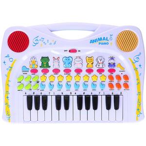 XXXLutz Keyboard , 04490 , Multicolor, Weiß , Kunststoff , 37x2.5x25 cm , Geräuscheffekte,Geräuscheffekte,Geräuscheffekte , 006287114701