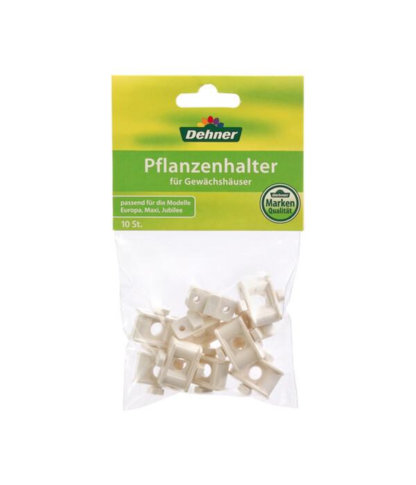 Dehner Gewächshaus-Pflanzenhalter, 10 Stk.