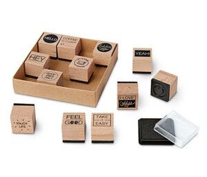 Stempel-Set »Coffee«