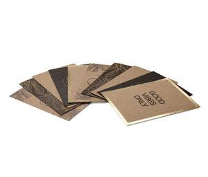 Kaffeepapier-Postkarten-Set