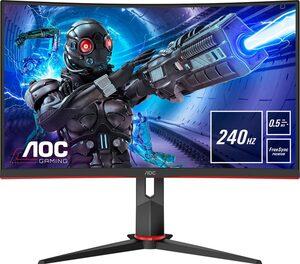 AOC C27G2ZE Gaming-Monitor (1920 x 1080 Pixel, Full HD, 0,5 (MPRT) ms Reaktionszeit, 240 Hz)