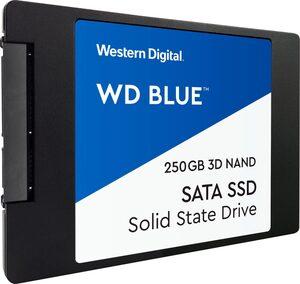 """Western Digital »WD Blue 3D NAND SATA« SSD 2,5"""" (250 GB) 560 MB/S Lesegeschwindigkeit, 530 MB/S Schreibgeschwindigkeit)"""
