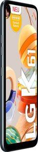 LG K61 Smartphone (16,5 cm/6,53 Zoll, 128 GB Speicherplatz, 48 MP Kamera)