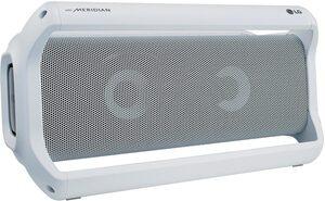 LG PK7 W 2.0 Bluetooth-Lautsprecher (aptX Bluetooth, 40 W, Outdoorlautsprecher mit Meridian Technologie)