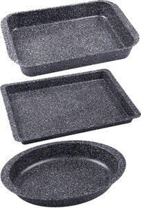CHG Auflaufform »Granito«, Metall, (3-St), SkandiaXtrem Plus Antihaftbeschichtung