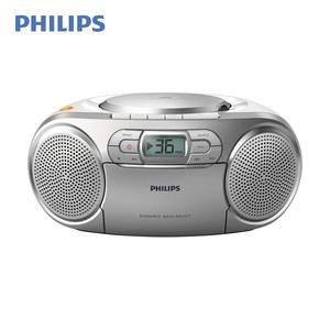 Radiorecorder AZ127/12 • CD-Player, Kassettendeck • UKW-Tuner • Aux-Anschluss • Netz- oder Batteriebetrieb