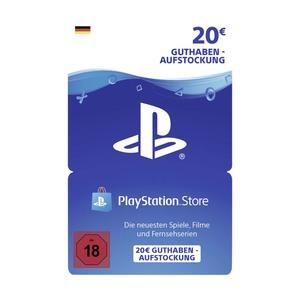 Guthabenkarte Sony PlayStation Store