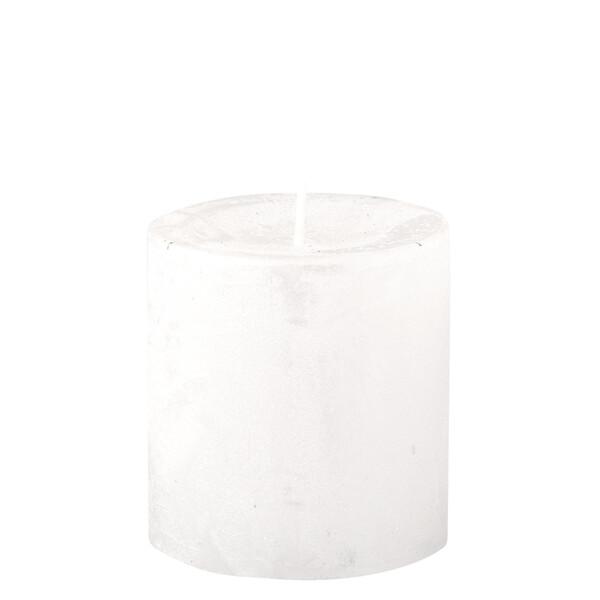 Kleine Kerze im Metallic-Look