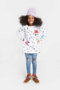 Langes Shirt 100% Baumwolle