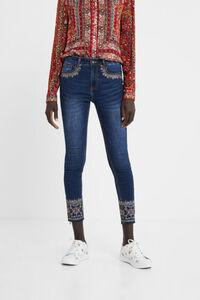 Exotische Skinny Jeans