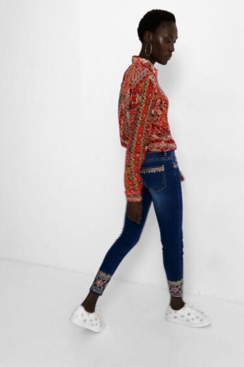 Bild 2 von Exotische Skinny Jeans