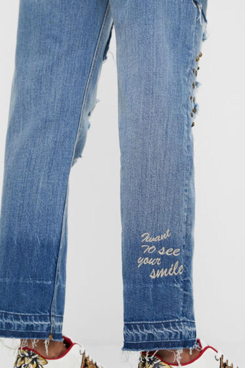 Bild 5 von Boyfriend-Jeans Nieten