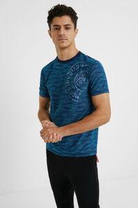T-Shirt mit gemustertem Jacquard