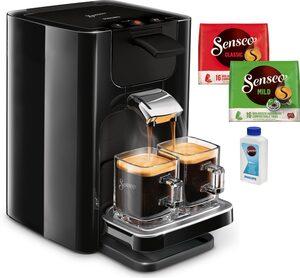 Senseo Kaffeepadmaschine SENSEO® Quadrante HD7865/60, inkl. Gratis-Zugaben im Wert von 14,- UVP