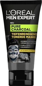 L'ORÉAL PARIS MEN EXPERT Gesichtsmaske »Pure Charcoal Tiefenreinigende Tonerde«