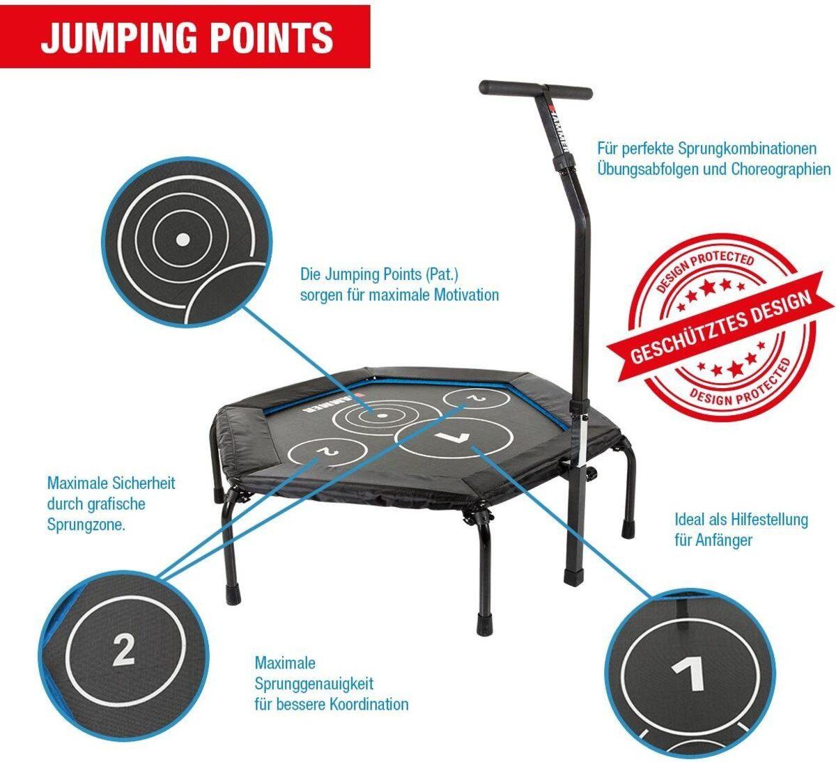 Bild 5 von Hammer Fitnesstrampolin »Cross Jump«