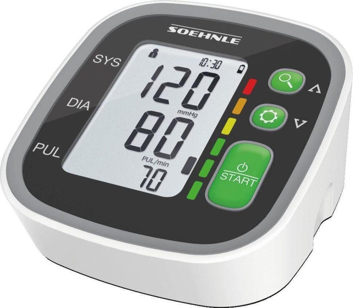 Bild 1 von Soehnle Oberarm-Blutdruckmessgerät Systo Monitor 300, integrierter Bewegungssensor für korrekte Messergebnisse