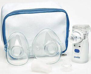 promed Inhalationsgerät »INH-2.1 Ultraschall-Inhalator«, ideal für unterwegs