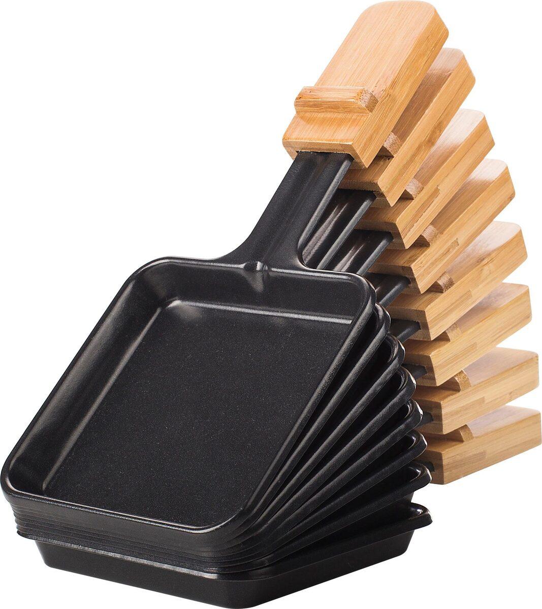 Bild 4 von PRINCESS Raclette Pure 8 01.162910.01.001, 8 Raclettepfännchen, 1200 W