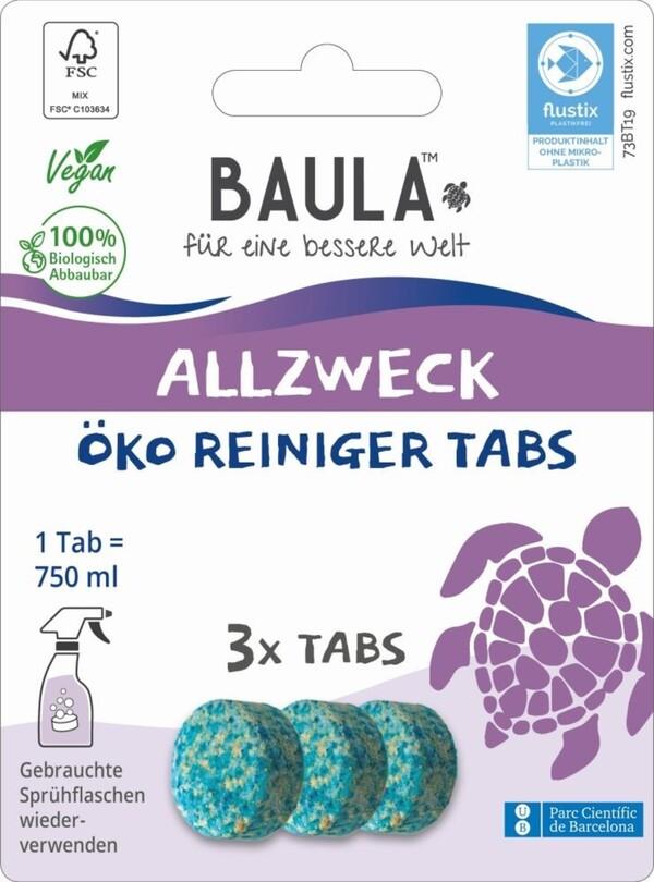 Biobaula  Allzweck ÖKO Reiniger 3 Tabs