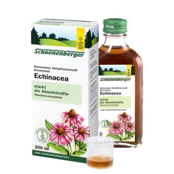 Schoenenberger  Naturreiner Heilpflanzensaft Echinacea