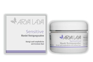 ARYA LAYA  Sensitive Mandel Reinigungssahne 100 ml