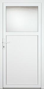 KM Meeth Nebeneingangstür Modell KM 01 980 x 1980 mm, weiß , DIN links
