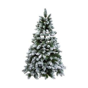 TREE OF THE MONTH Fichte mit Schnee H 210cm