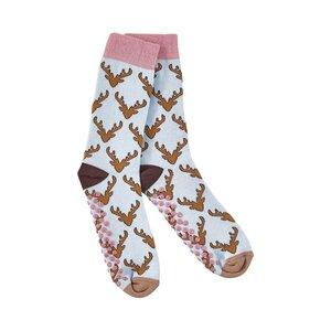 COZY SOCKS Socken Hirsch 35-38