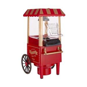 MOVIE TIME Popcornmaschine mit Rollen 39cm