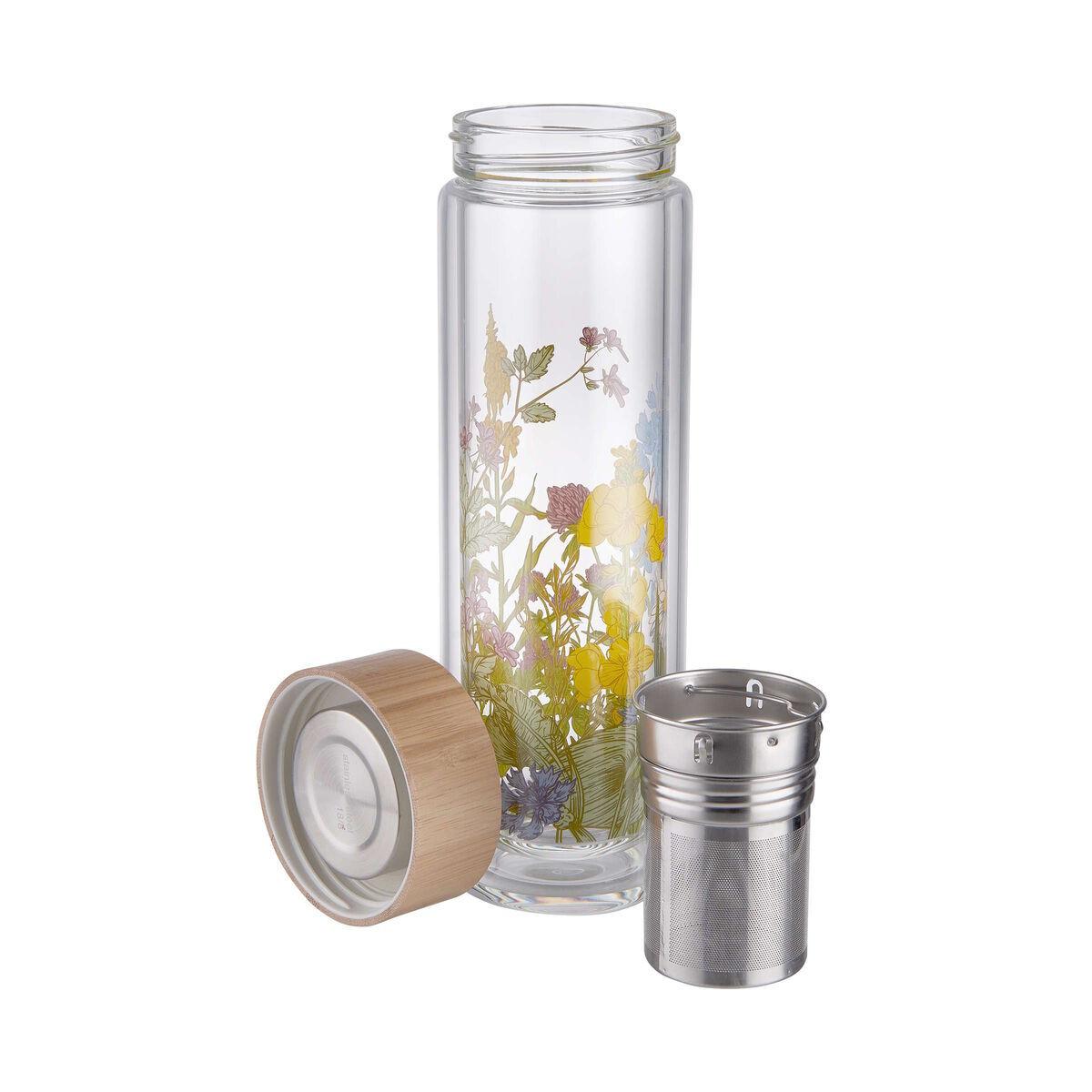 Bild 4 von TEA TENDER Teeflasche mit Blumendruck 450ml