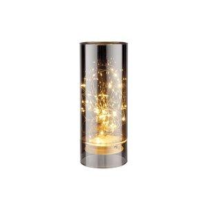 LED Lichtglas verspiegelt 20cm