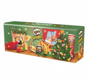 Pringles Adventskalender - Grün