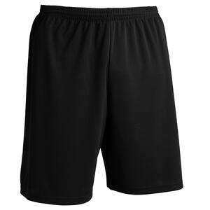 Fussballhose F100 Ecodesign Erwachsene schwarz