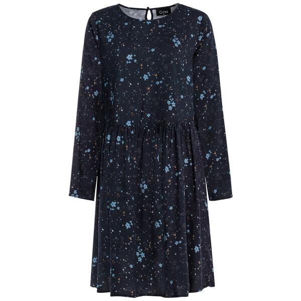 Damen Kleid mit floralem Allover-Motiv