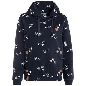 Damen Sweatshirt mit Schwalben-Allover