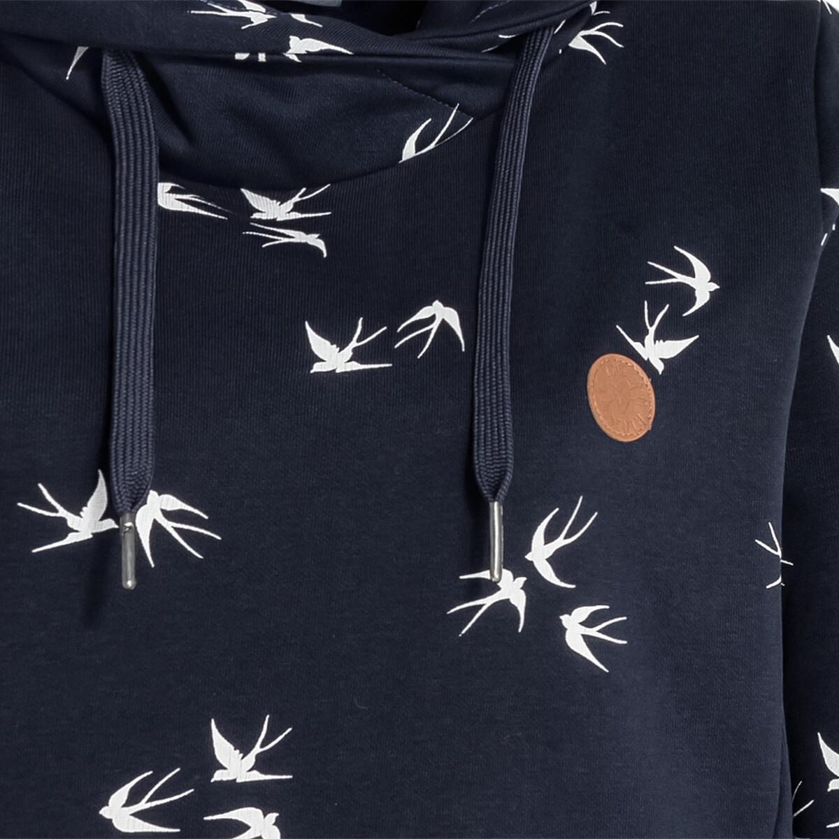 Bild 3 von Damen Sweatshirt mit Schwalben-Allover