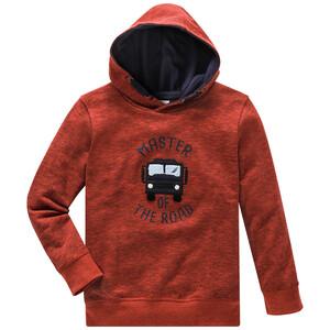 Jungen Sweatshirt mit Bus-Applikation