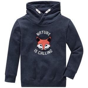 Jungen Sweatshirt mit Fuchs-Applikation
